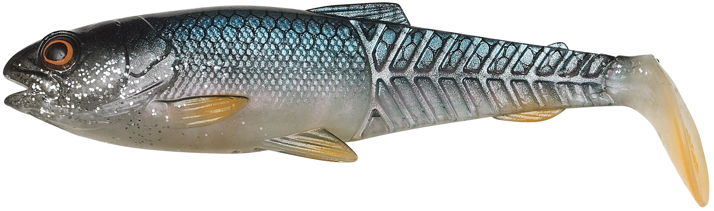 Savage Gear-Craft Cannibal Paddletail 12,5cm Farbe Roach-1 - Gerlinger.de