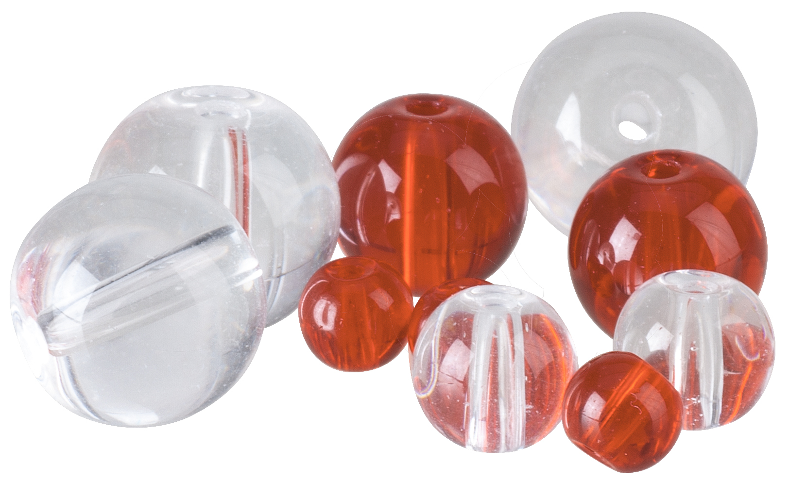 Iron Claw-Glass Beads Farbe Rot ø 4mm-1 - Gerlinger.de