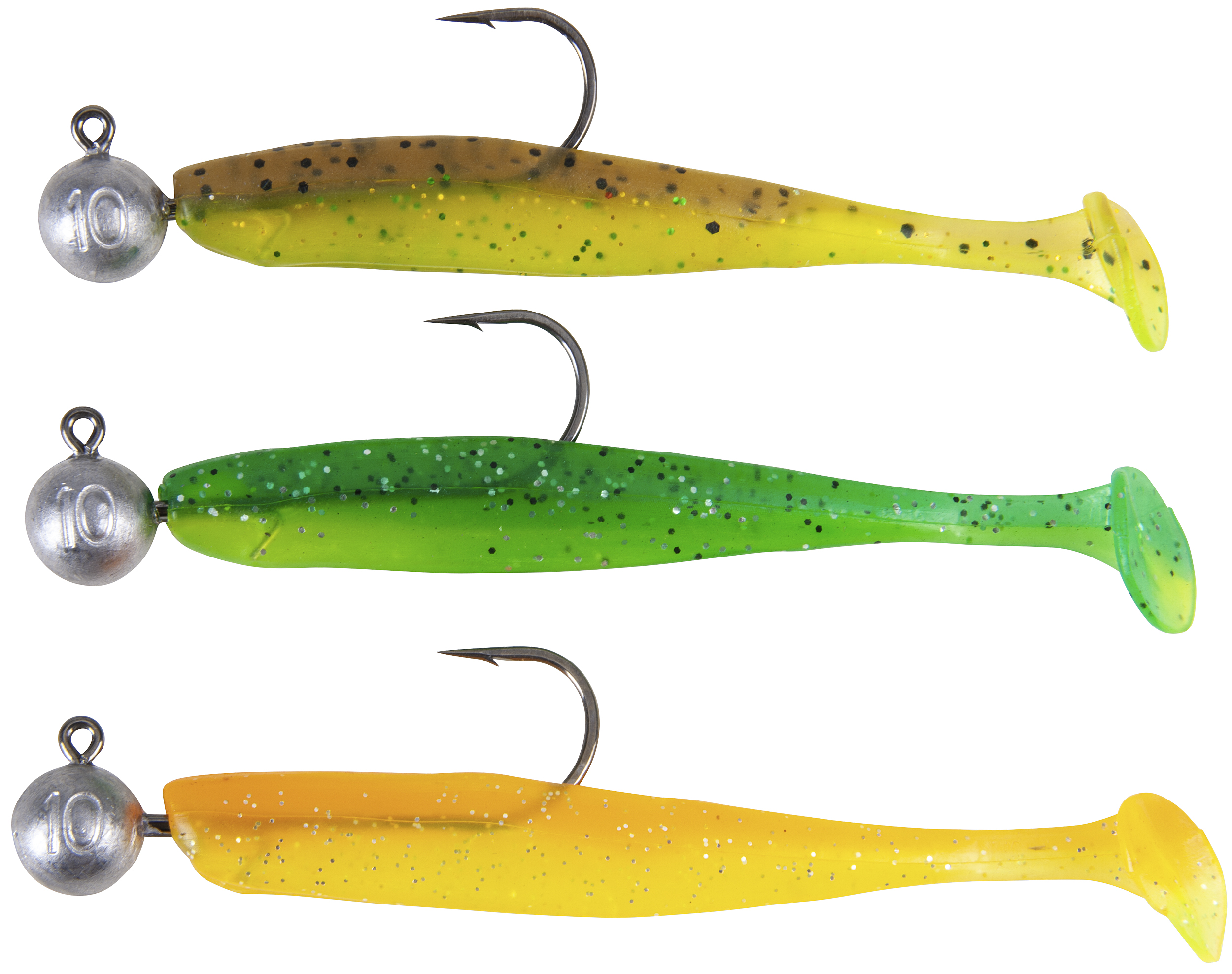 Iron Claw-Easy Shad P´n´P Farbe Mix 1 Länge ca. 10cm-1 - Gerlinger.de