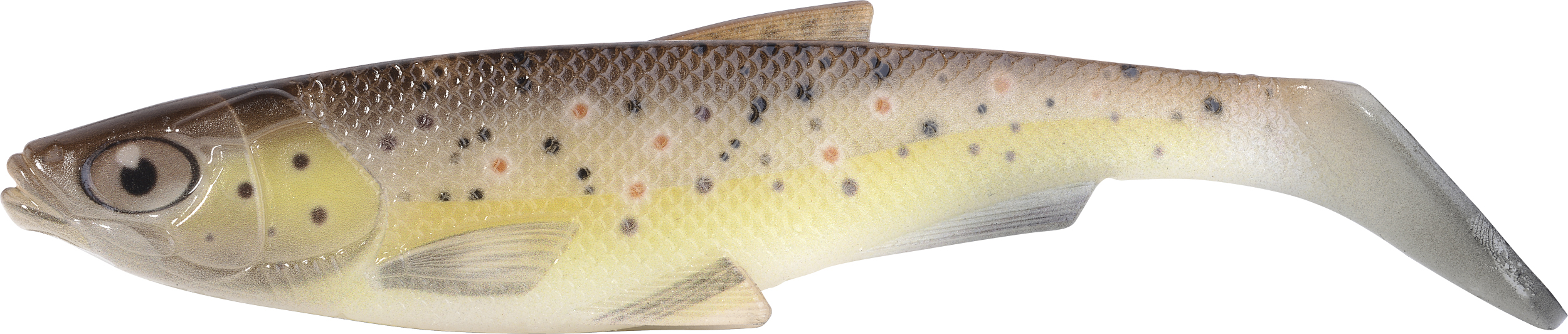 Iron Claw-Gummifisch Belly Boy NG Farbe Brown Trout Länge 15cm-1 - Gerlinger.de