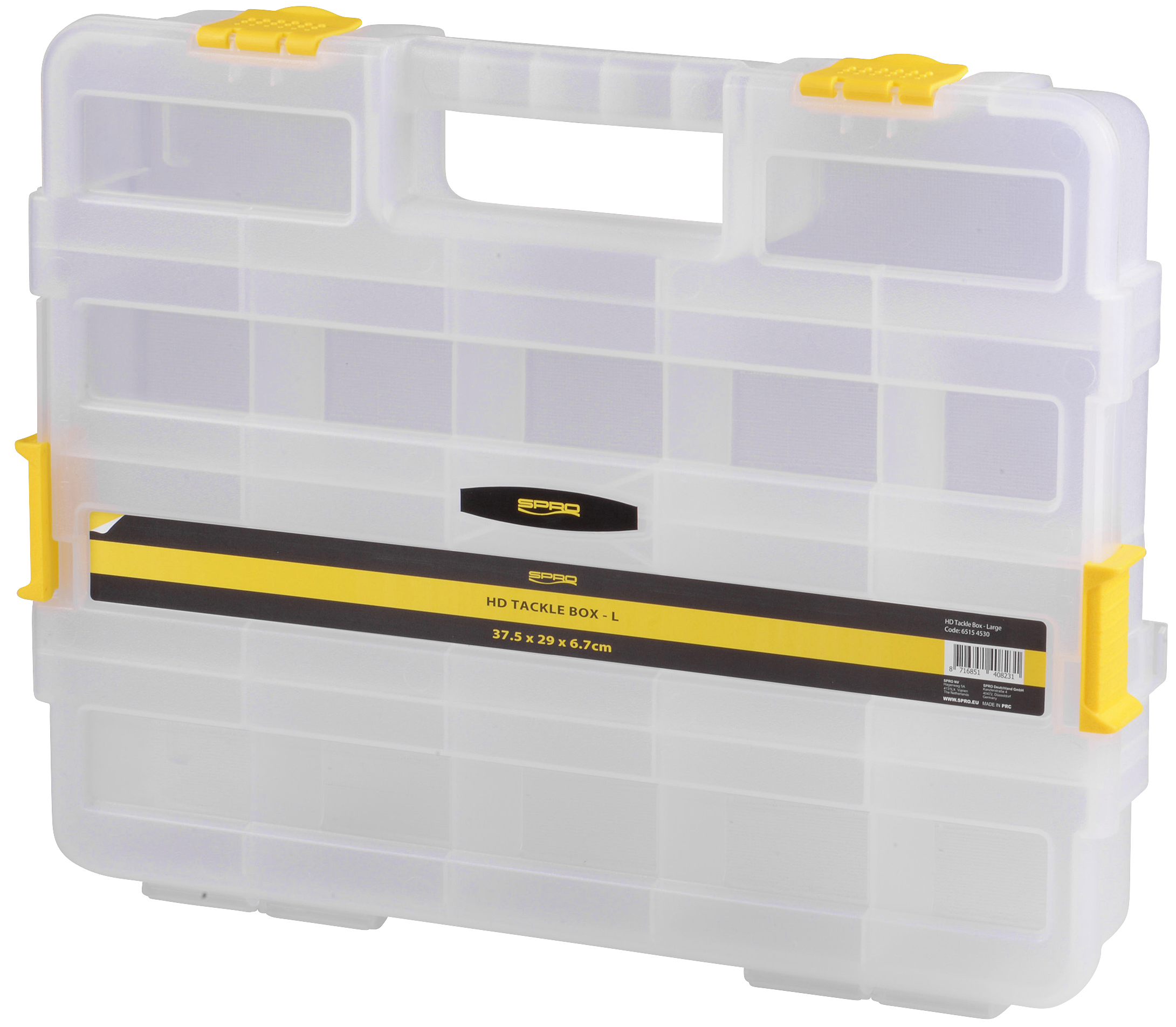 Spro-HD Tackle Box Double Sided 32x27x8cm-1 - Gerlinger.de