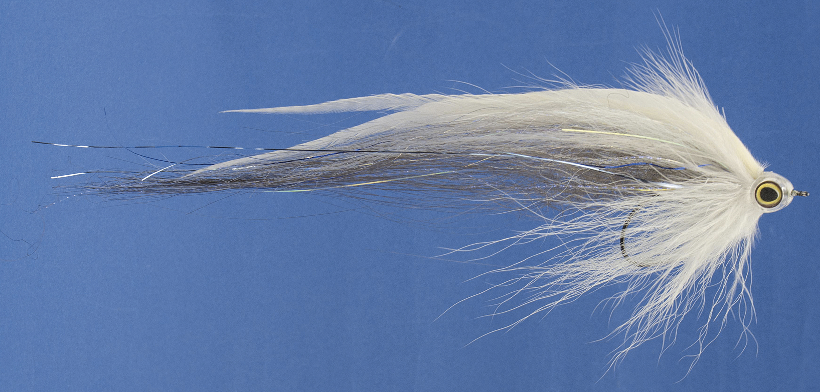 Traun River-Super Streamer Pike Collector Farbe Whitefish-1 - Gerlinger.de